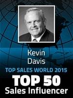 Kevin Davis Top 50 Sales Influencers 2015