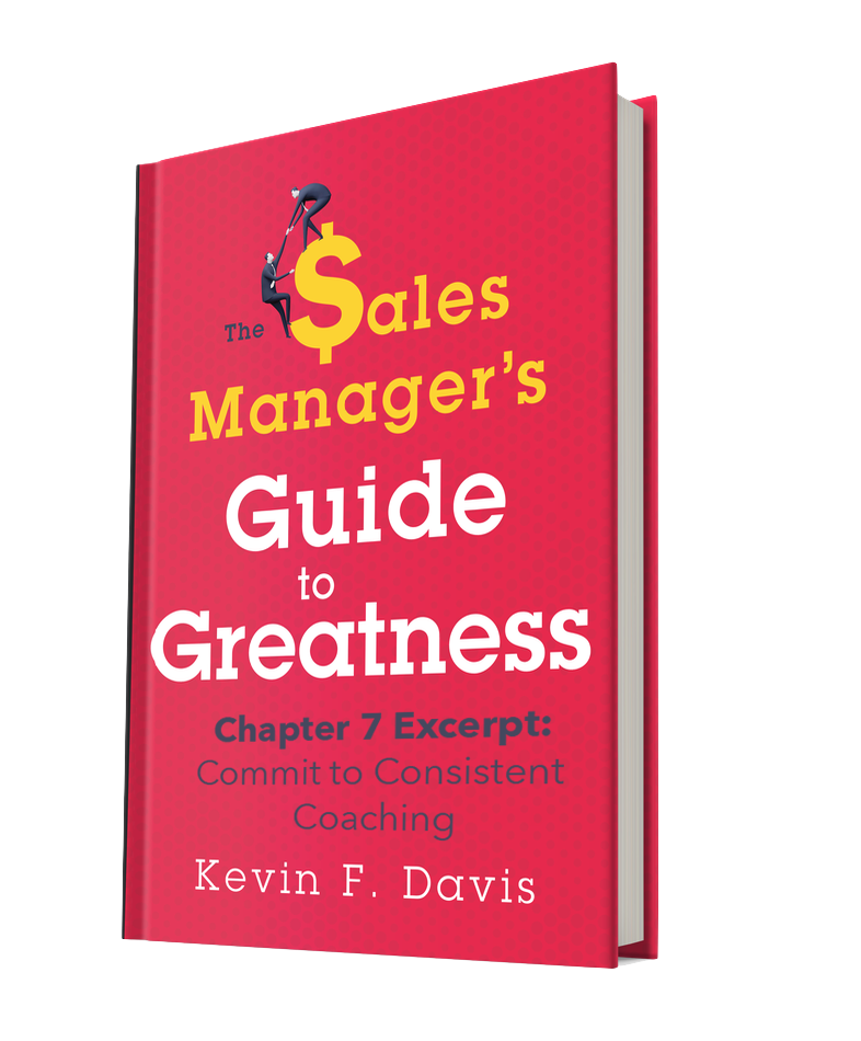 The Sales Manager's Guide to Greatness