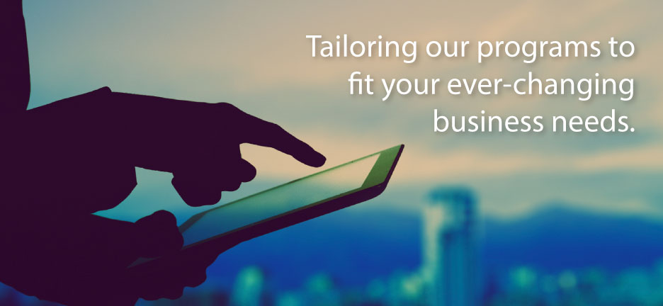 Sales training and sales management training customization