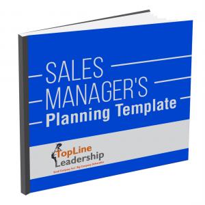 Sales Manager's Planning Template