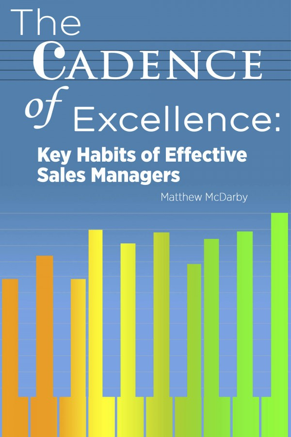 """Book Review for """"The Cadence of Excellence"""" by Matt McDarby"""