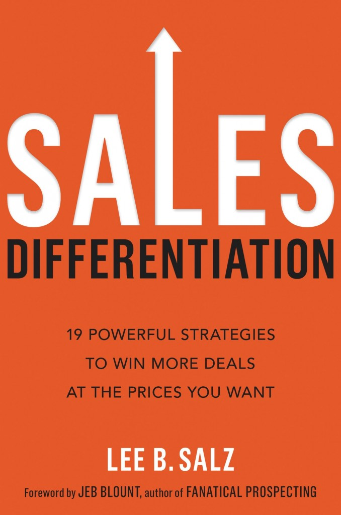 Sales Differentiation by Lee Salz Book Review by Kevin F. Davis